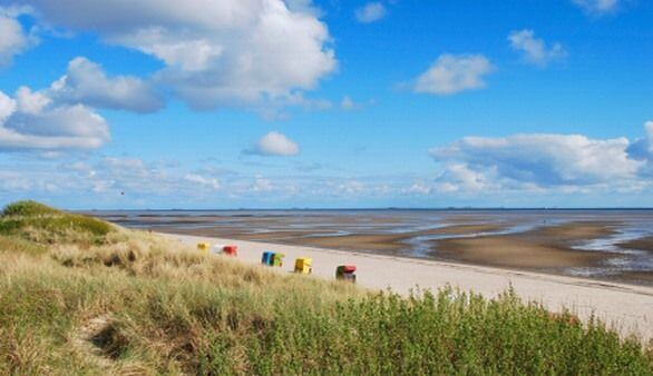 Strand an der Nordsee