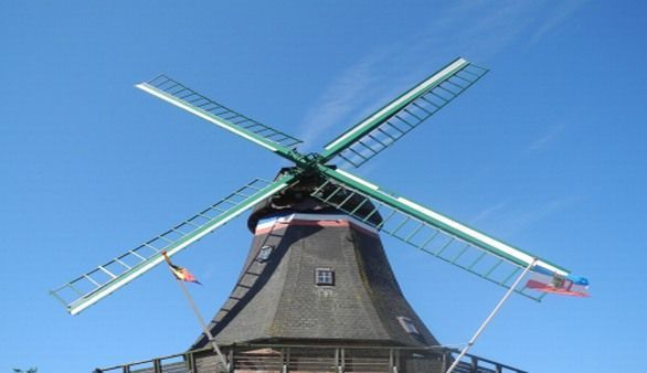 Windmühle in Nordstrand