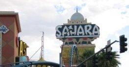 Sahara Hotel in Las Vegas