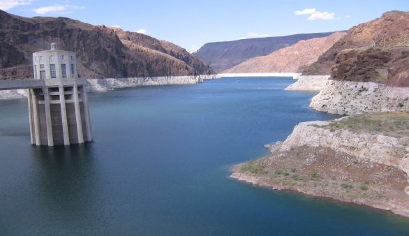 Lake Mead und Hoover Dam