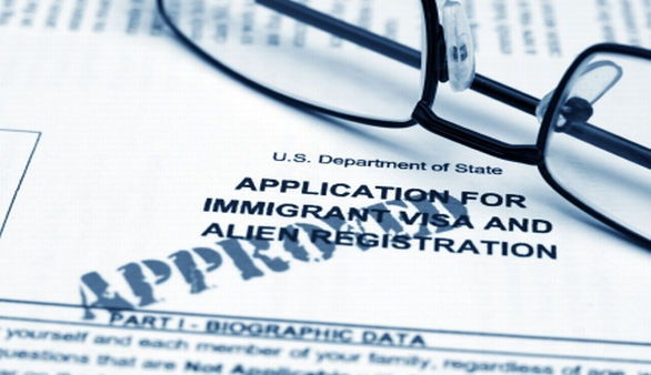 Bewerbungsformular für ein Immigrations Visa