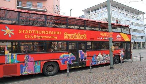 Sightseeing Bus in Frankfurt