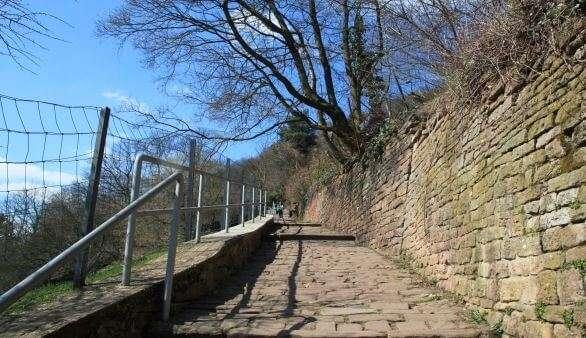 Der Philosophenweg in Heidelberg