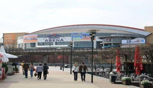 Die Arena in Oberhausen