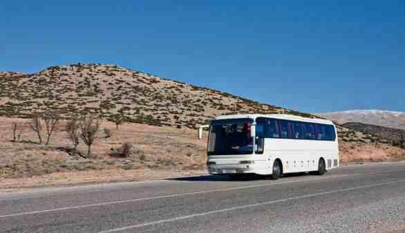 Mit dem Bus unterwegs in der Türkei