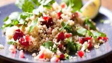 Couscous-Salat mit knackigem Gemüse