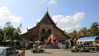 Wat Chieng Mun Tempel in Chiang Mai